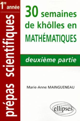 Mathématiques - 2e partie