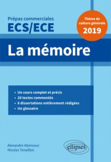 Thème de culture générale - Prépas commerciales ECS / ECE 2019