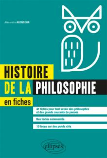 Histoire de la philosophie en fiches