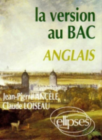 La version au bac - Anglais