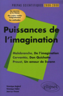 Puissances de l'imagination : Malebranche, De l'imagination,  Cervantès, Don Quichotte,  Proust, Un amour de Swann