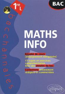 Mathématiques-Informatique - Première L - Enseignement obligatoire
