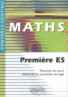 Mathématiques - Première ES