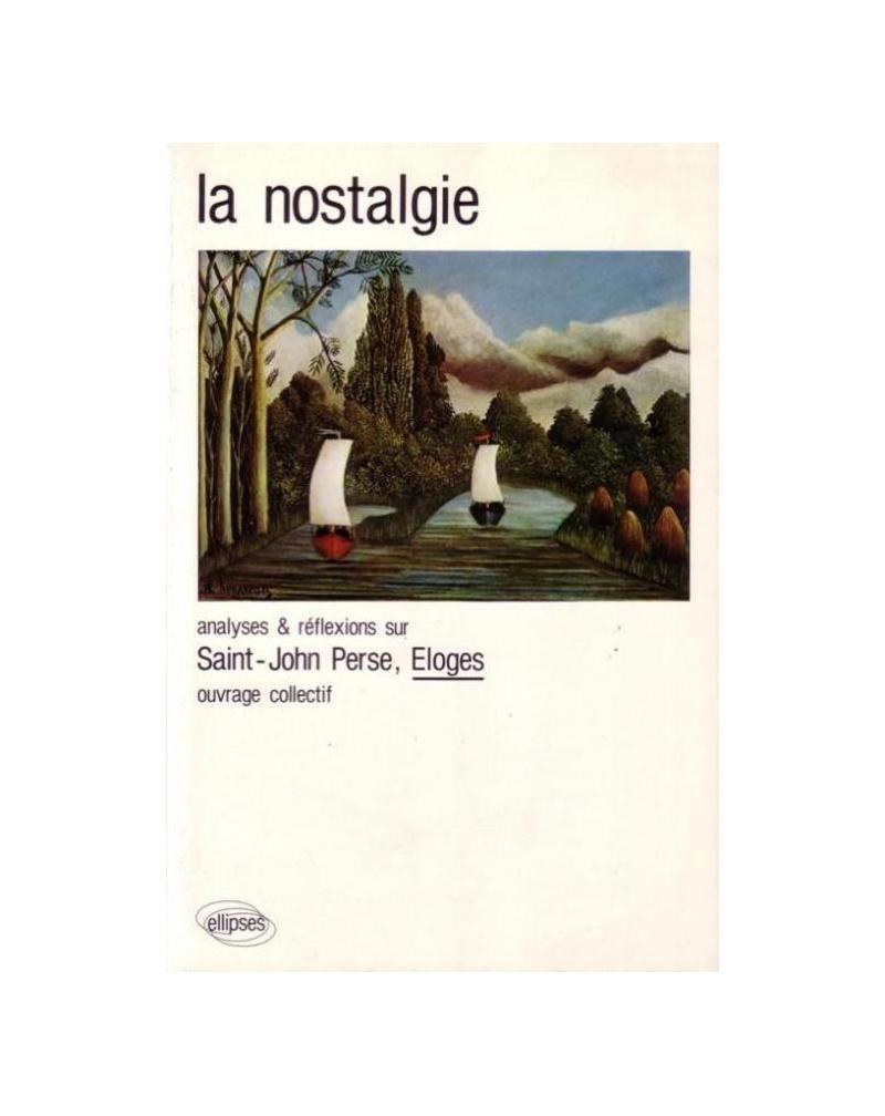 Saint-John Perse, Éloges