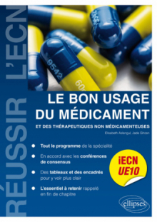 UE10 - Le bon usage du médicament et des thérapeutiques non médicamenteuses