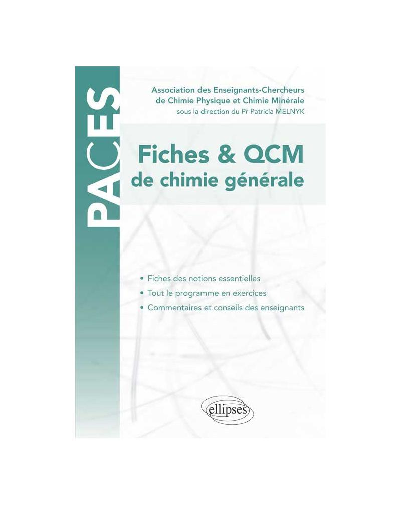 UE1 - QCM de chimie générale