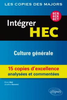 Intégrer HEC-ECS, ECE, ECT : Culture générale