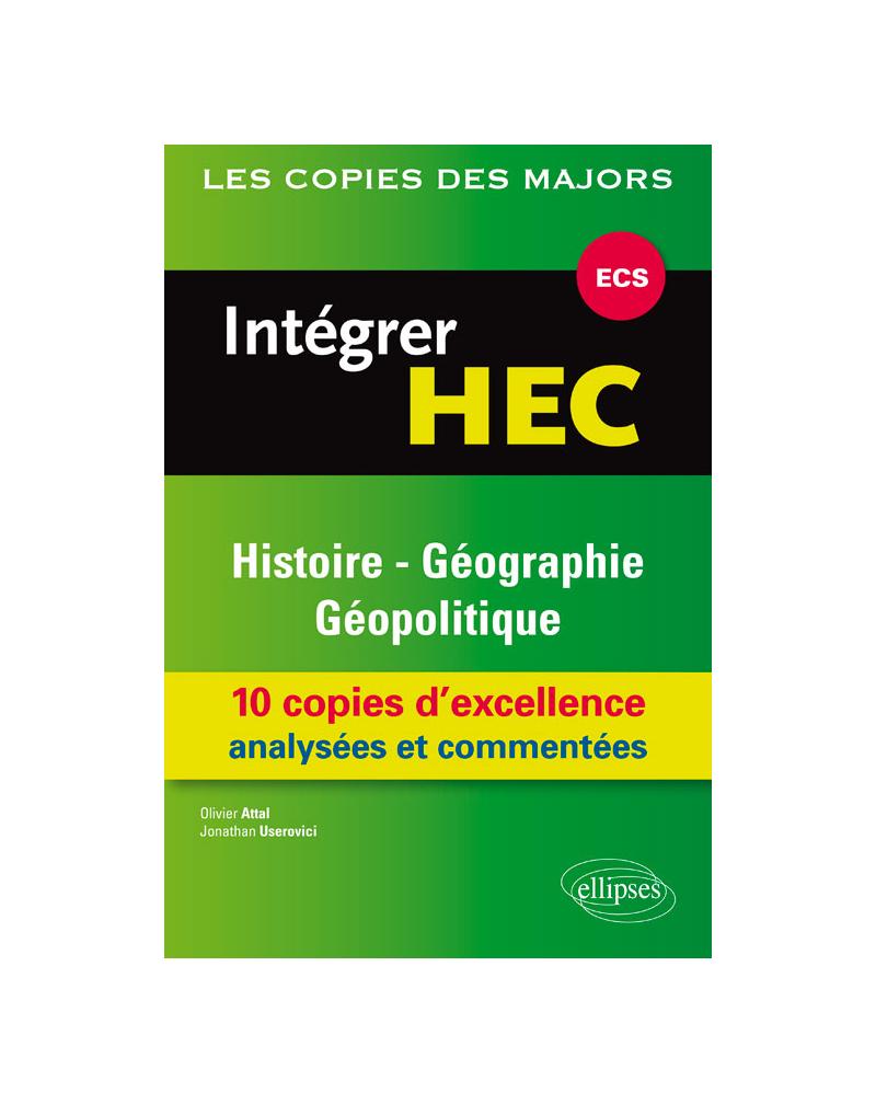Intégrer HEC-ECS : Histoire-Géographie et Géopolitique