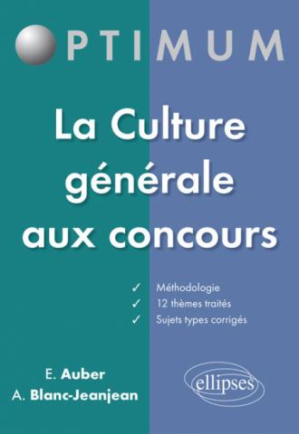 La Culture générale  aux concours