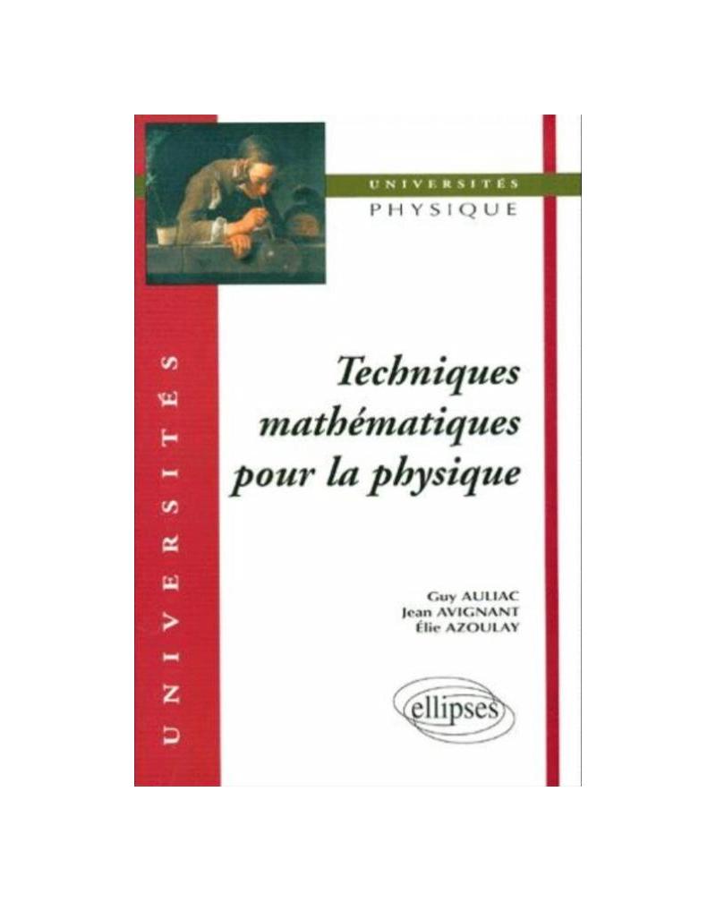 Techniques mathématiques pour la physique