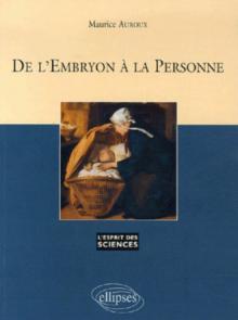 De l'embryon à la personne - n°41