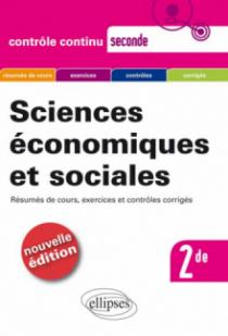 Sciences économiques et sociales - Seconde