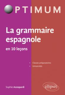 La grammaire espagnole en 10 leçons