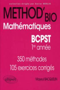 Mathématiques BCPST-1
