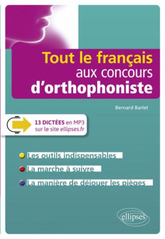 Tout le français aux concours d'orthophoniste