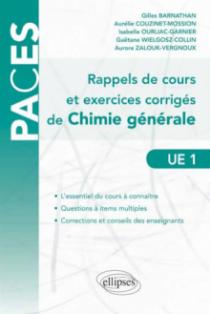 Rappels de cours et exercices corrigés de chimie générale (Questions à Items Multiples)
