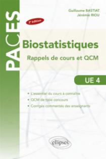 UE4 - Biostatistiques : rappels de cours et QCM - 2e édition
