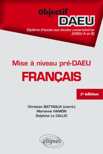 Mise à niveau pré-DAEU Français - 2e édition