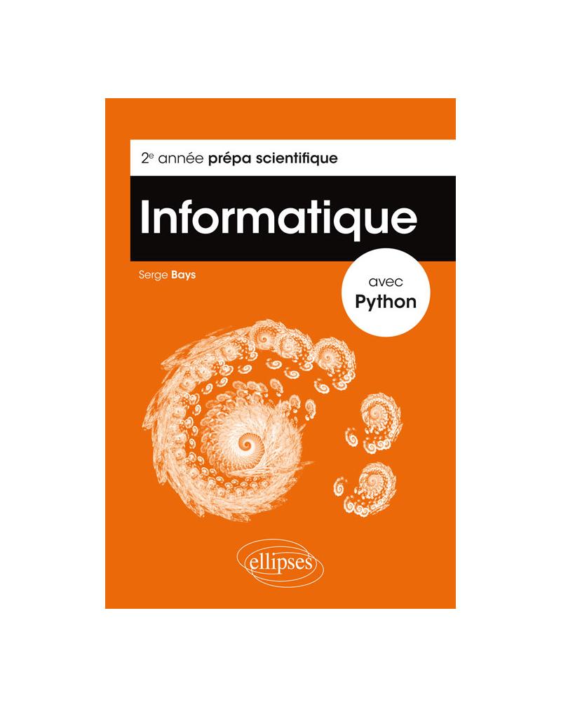 Informatique avec Python - 2e année prépa scientifique