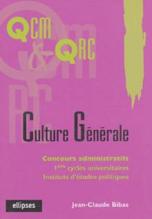 La culture générale en QCM et QRC