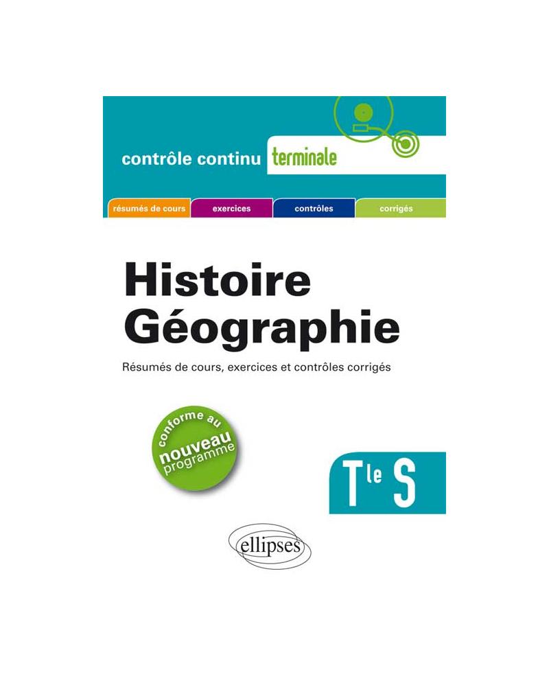 Histoire-Géographie - Terminale S -nouveau programme