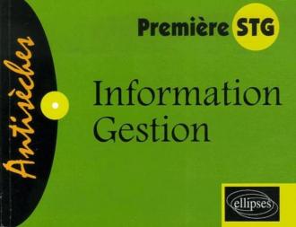 Information-Gestion - Première STG