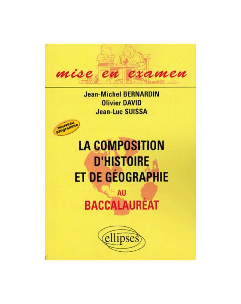 Composition d'histoire et de géographie au Baccalauréat