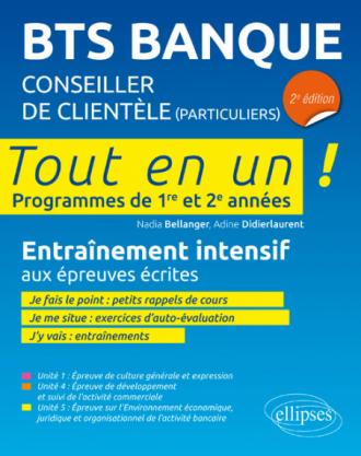 BTS Banque - Conseiller de clientèle - 2e édition