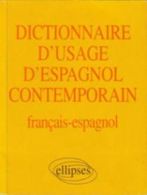 Dictionnaire d'usage d'espagnol contemporain
