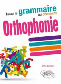 Toute la grammaire au concours d'orthophonie
