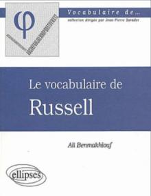 vocabulaire de Russel (Le)