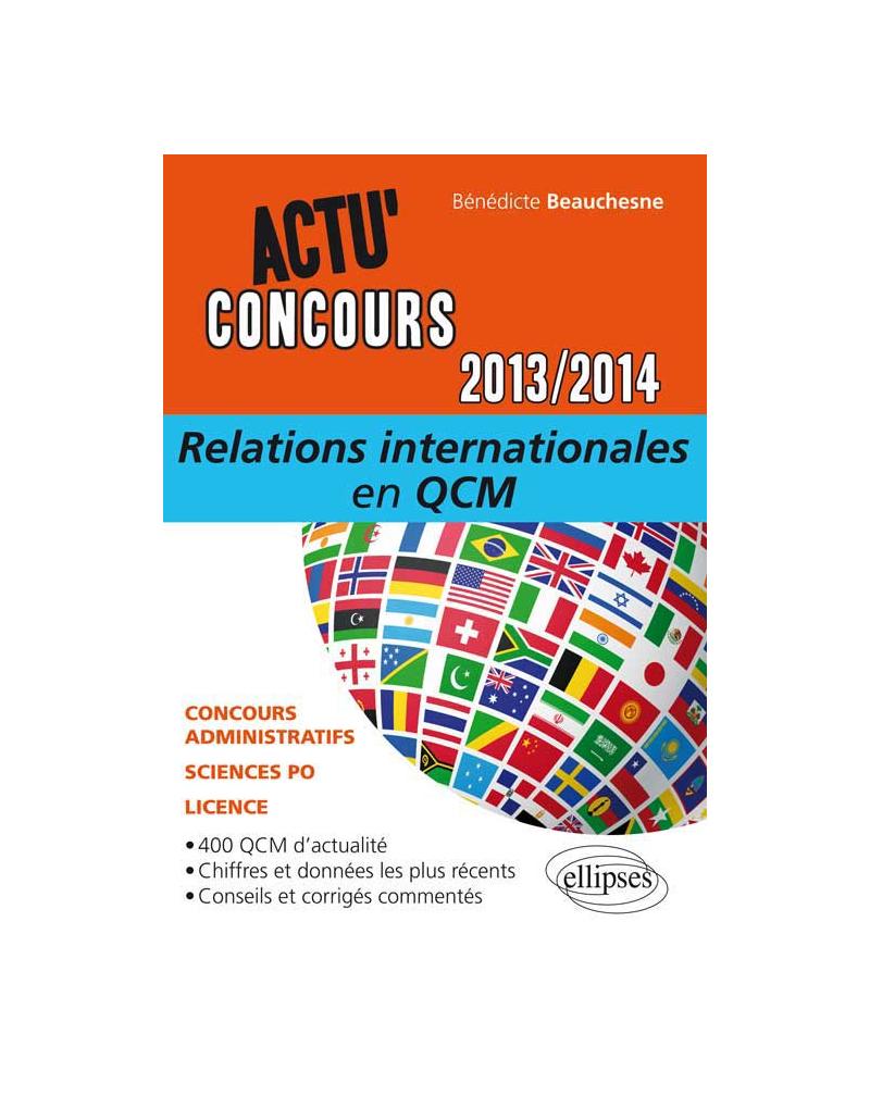 Relations internationales en QCM - 2013-2014