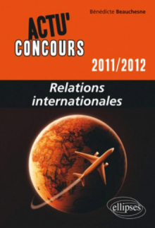 Relations internationales - 2011-2012