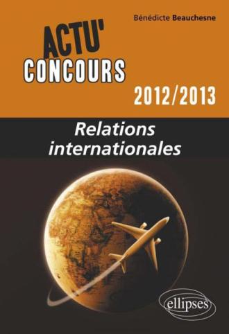 Relations internationales - 2012-2013