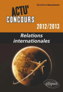 Relations internationales - 2012-2013
