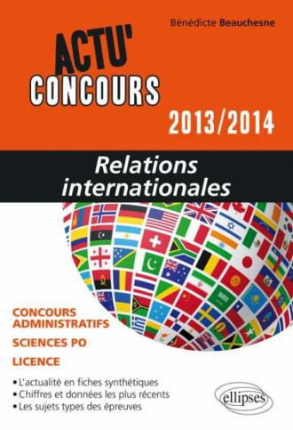 Relations internationales - 2013-2014