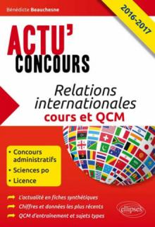 Relations internationales - Cours et QCM - 2016-2017