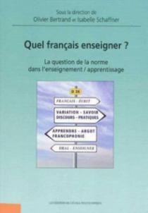 Quel français enseigner ?