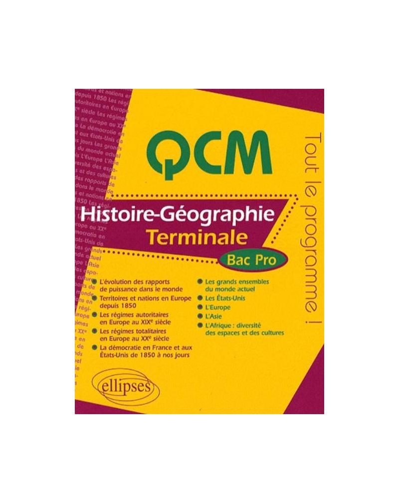 Histoire-Géographie - Terminale Bac Pro
