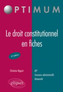 Le droit constitutionnel en fiches (2e édition)