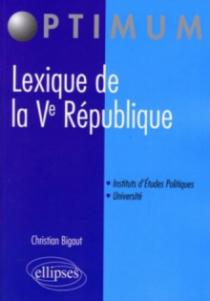 Lexique de la Ve République