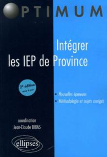 Intégrer les I.E.P. de province
