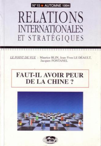 n°15 - Faut-il avoir peur de la Chine ?