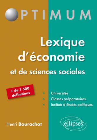 Lexique d'économie et de Sciences sociales