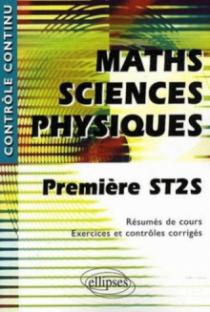 Mathématiques-Sciences physiques - Première ST2S