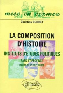 La composition d'histoire à Sciences Po (Paris et province) (entrée en 1re et 2e années)