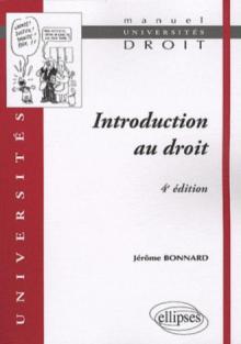 Introduction au droit - 4e édition refondue et mise à jour