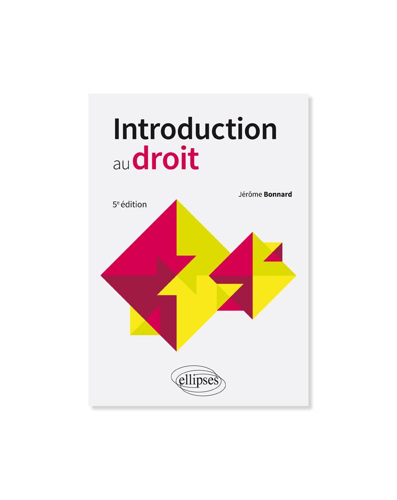 Introduction au droit - 5e édition