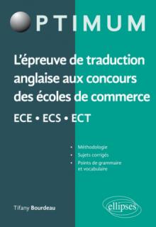 L'épreuve de traduction anglaise aux concours des écoles de commerce ECE - ECS - ECT