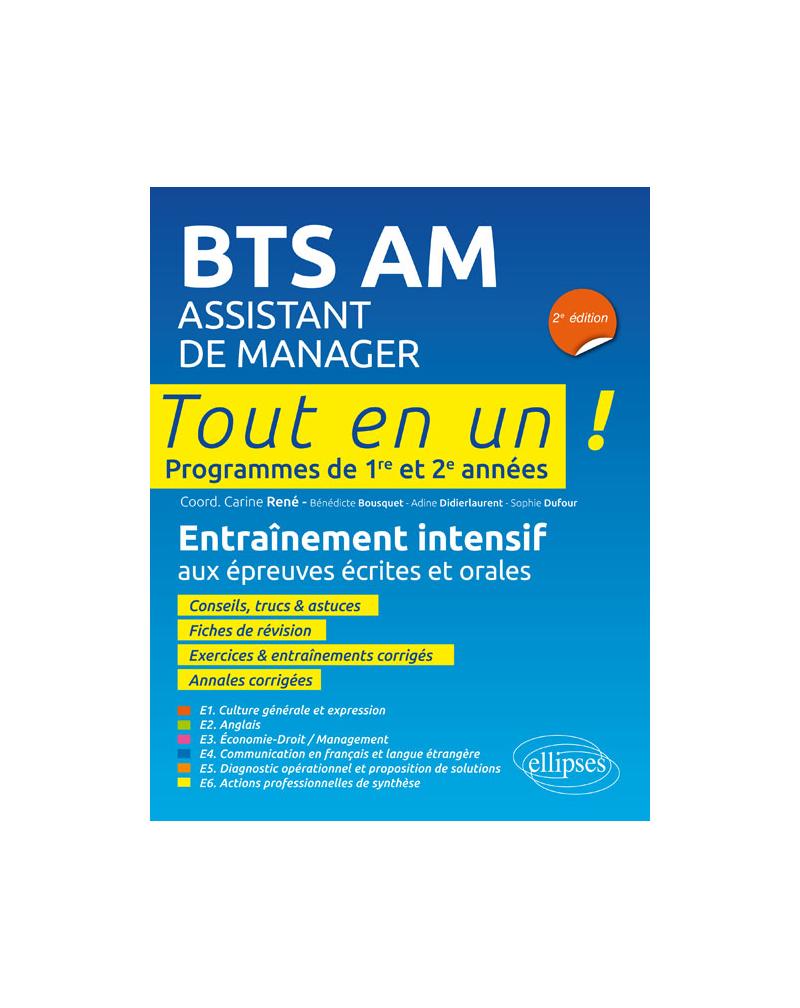 BTS AM (Assistant de manager) - 2e édition